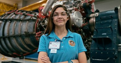 Alyssa Carson is a 17-year-old girl from Baton Rouge, Louisiana who is on a training program to become an astronaut