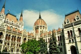 The Parliament Building in Budapest. Copyright Cornelia Kaufmann