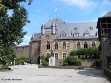 The Palais of Schloss Burg in Burg an der Wupper / Solingen. Copyright Cornelia Kaufmann