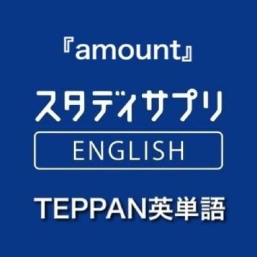 【TOEIC英単語】本日の間違えた「amount」の覚え方をTEPPAN英単語と例文で振り返る