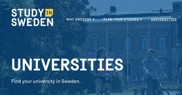 Study in Sweden - Select University