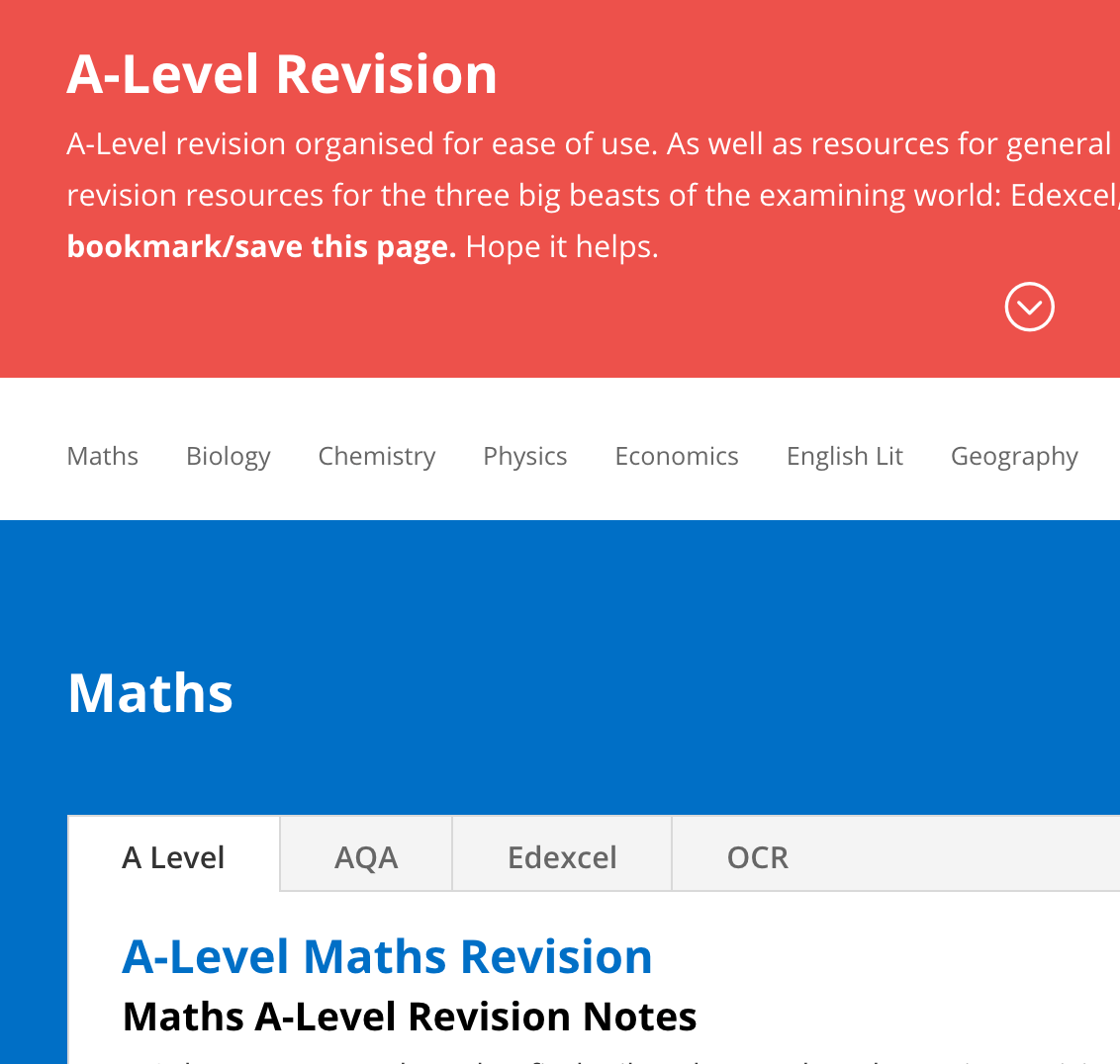 A-Level Revision - StudyWise