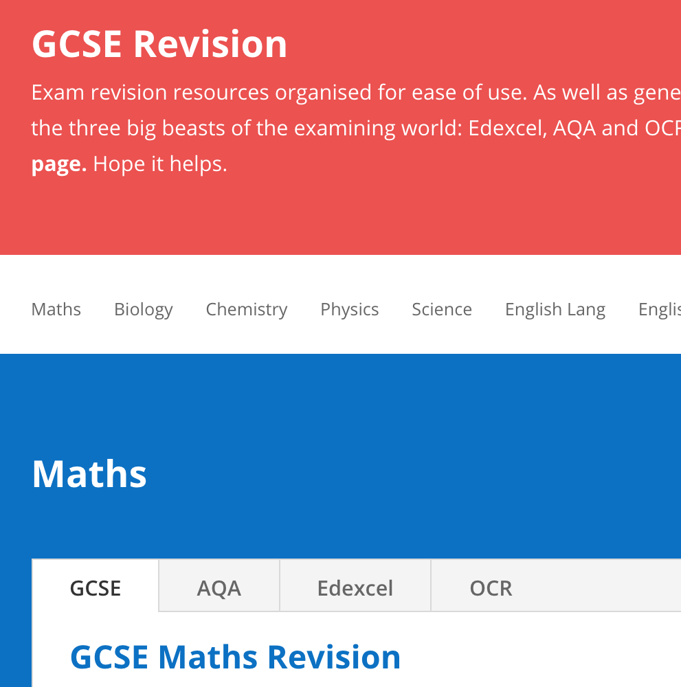 GCSE Revision - StudyWise