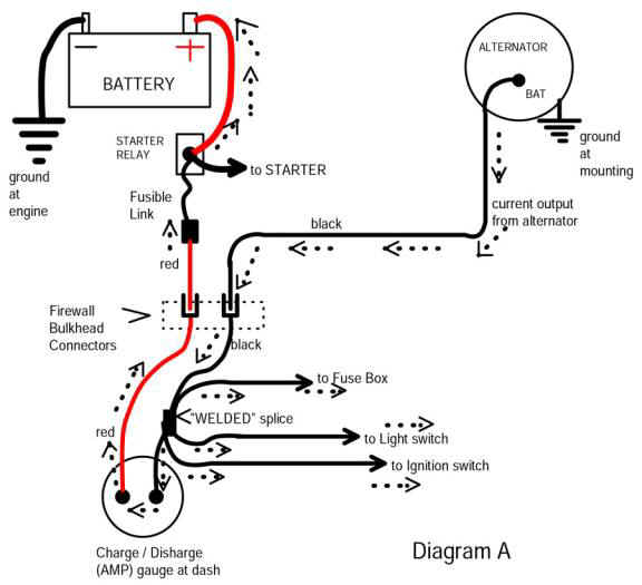 amp ga18 how to install an auto meter pro comp ultra lite voltmeter gauge egt gauge wiring diagram at mifinder.co