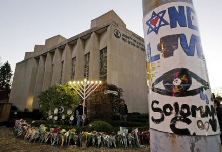 Pictured: The Pittsburgh synagogue in 2018.