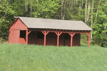 Paint horse stalls and barns with non-toxic animal friendly horse paint