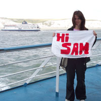 Hi Sam from the ferry!