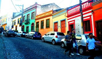 The streets of Olinda are as colorful as the people.