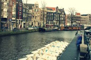 Fun Fact: Amsterdam has 165 canals equaling a combined length of 60 Miles.