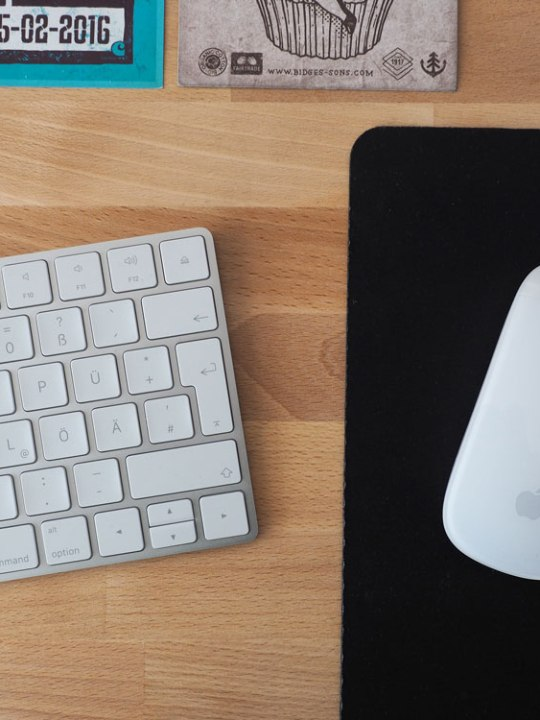 Apple Magic Keyboard und Magic Mouse 2