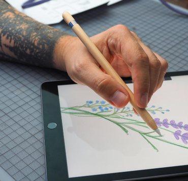 Apple Pencil Slickwraps iPad