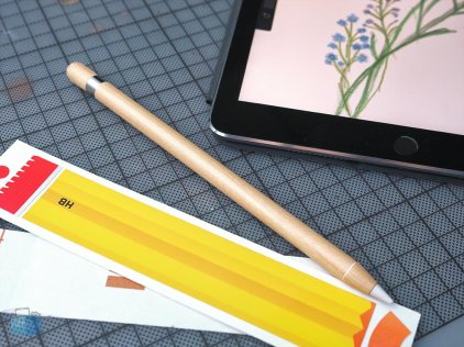 Slickwraps auf Apple Pencil