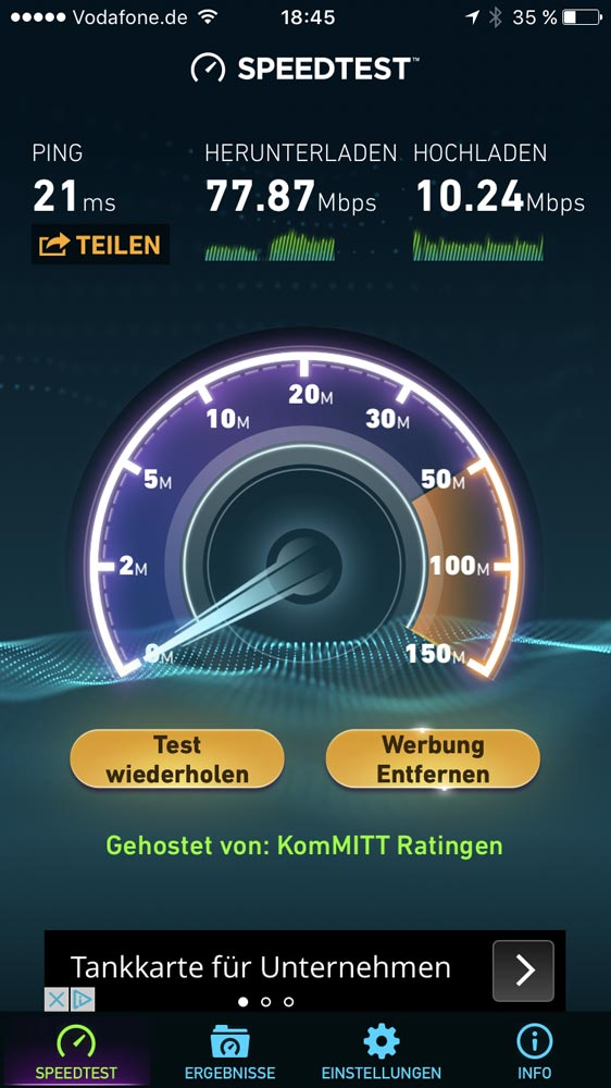 Speedtest Airport