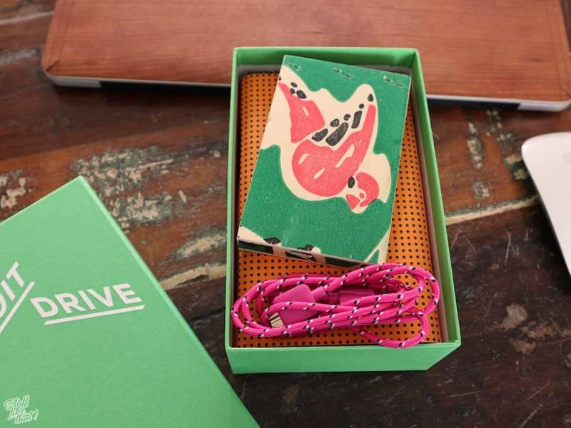 FruitDrive Festplatte Verpackung
