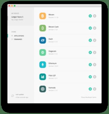 Ledger Manager App