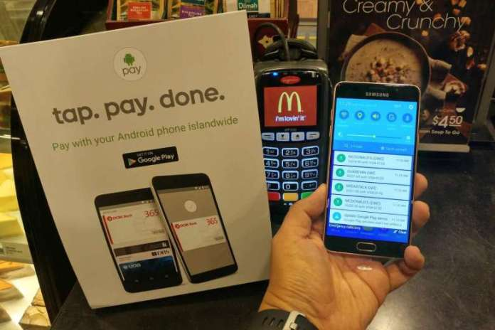 Tap Pay and Done