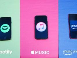 Apple music vs Spotify vs Amazon prime music