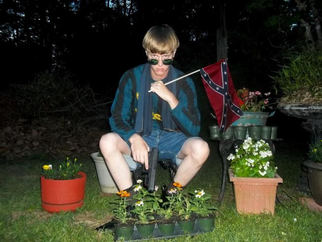 Dylann Roof and the Confederate Flag.