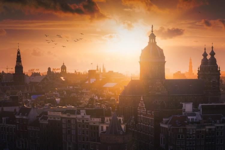 Hello Amsterdam!