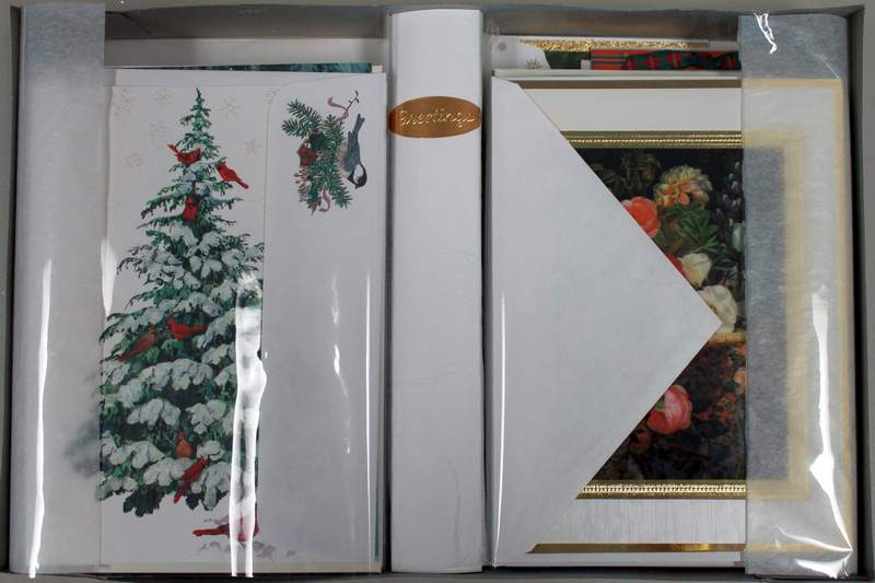 Premium Christmas Cards With Envelopes Boxed