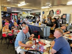 Hangar Cafe has a diner feel with great food