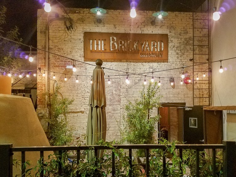 The Brickyard Downtown is in the heart of downtown Chandler in a historic old building!
