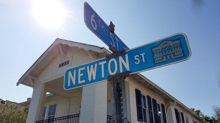 Strolling the streets in historic Gretna, LA