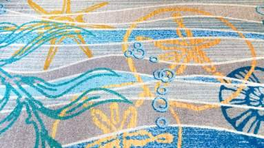 Do you see the hidden Mickey in the Beach Club carpet? © Stuffed Suitcase
