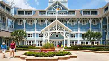 Beautiful Beach Club Resort at Walt Disney World © Stuffed Suitcase