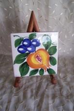 Italian painted tile