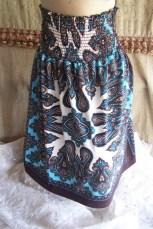 short skirt, acetate,mosaic pattern