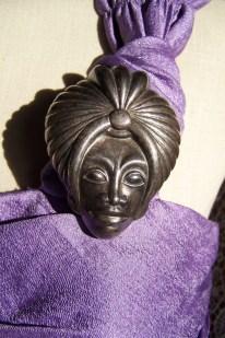 eastern man brooch