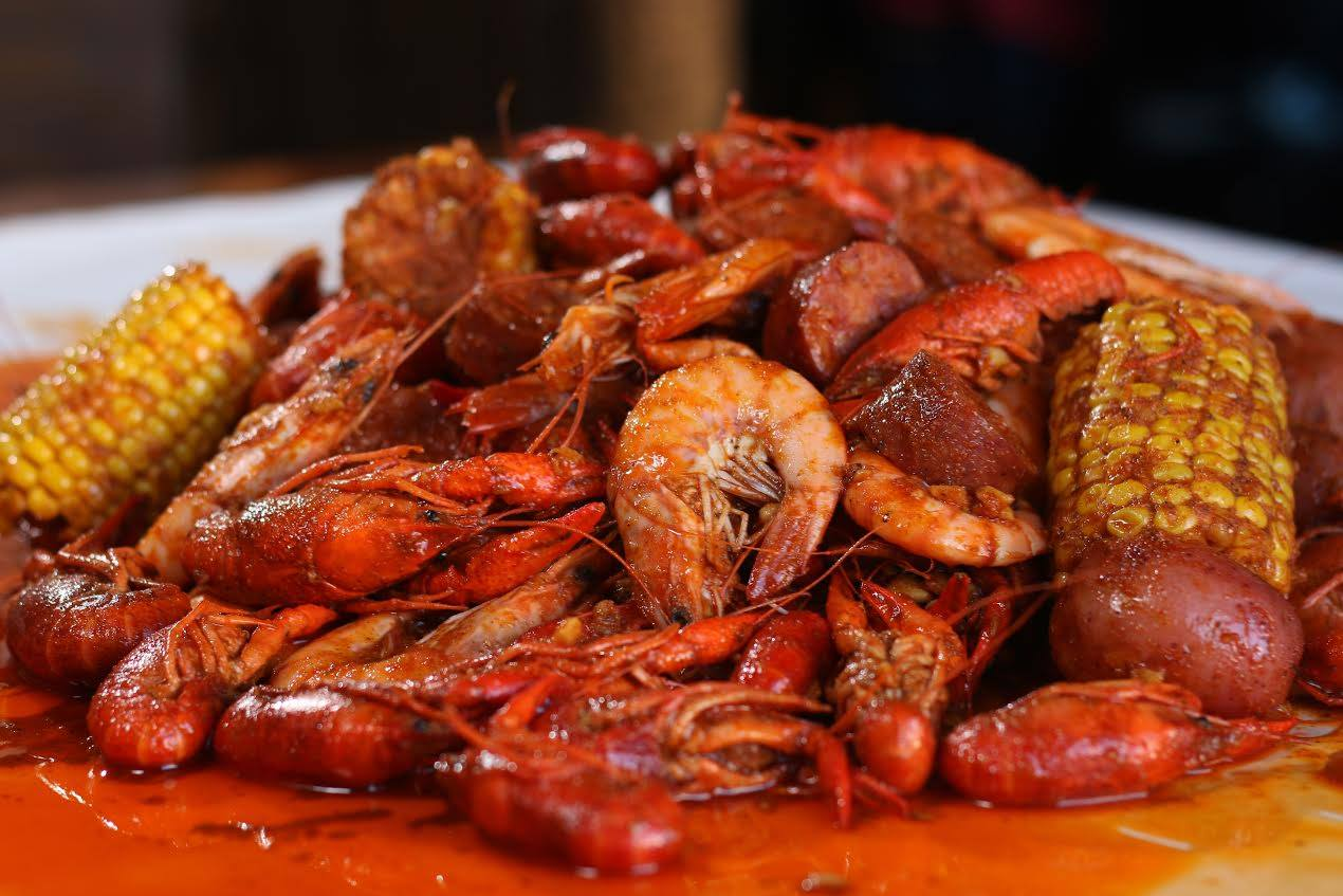 Get Your Spicy Cajun Seafood On At The Boiling Crab In