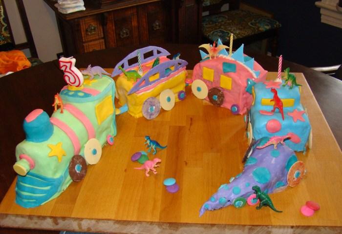 Toms Dinosaur Train Birthday Cake Stuff I Think Is Neat