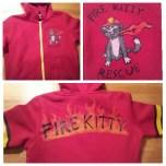 Fire Kitty hoodie
