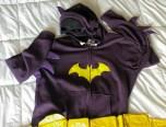 """Batgirl"" hoodie inspired by 1967 Batman TV show"