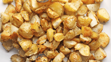 Herb Roasted New Potatoes grown by Russell Family Farms in Dover, Ar