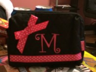My make-up bag from Kaelyn