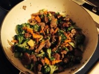 Veggies and Meat Mixture