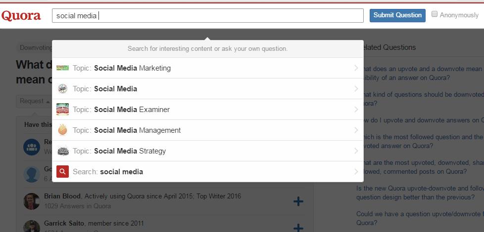 quora-topic-search