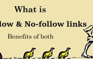 what is Do-Follow links and No-follow links and benefits of both