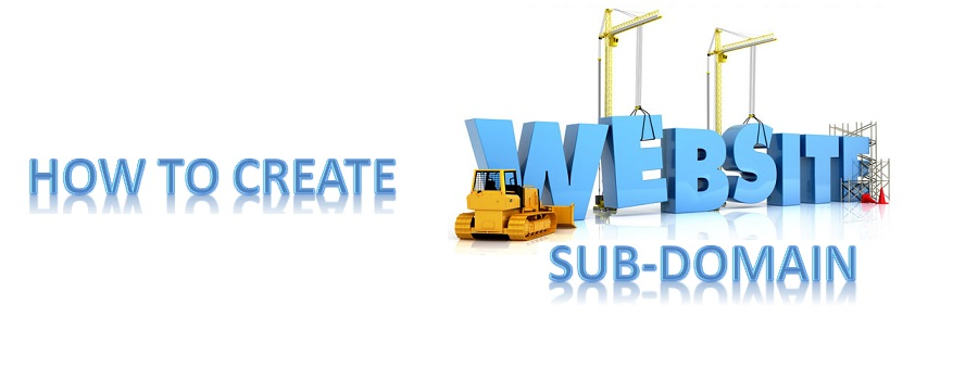 What is  sub-domain in simple words and how to create sub-domain?