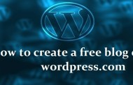 How to create a free blog on wordpress.com