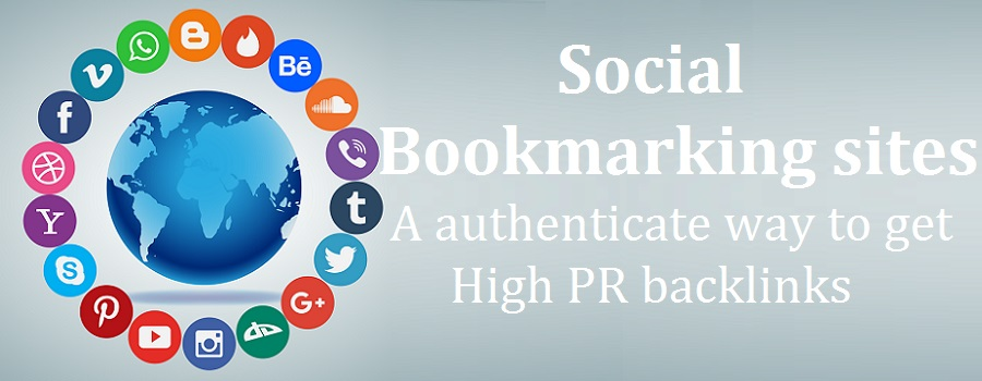 Social bookmarking sites- A authenticate way to get High PR backlinks