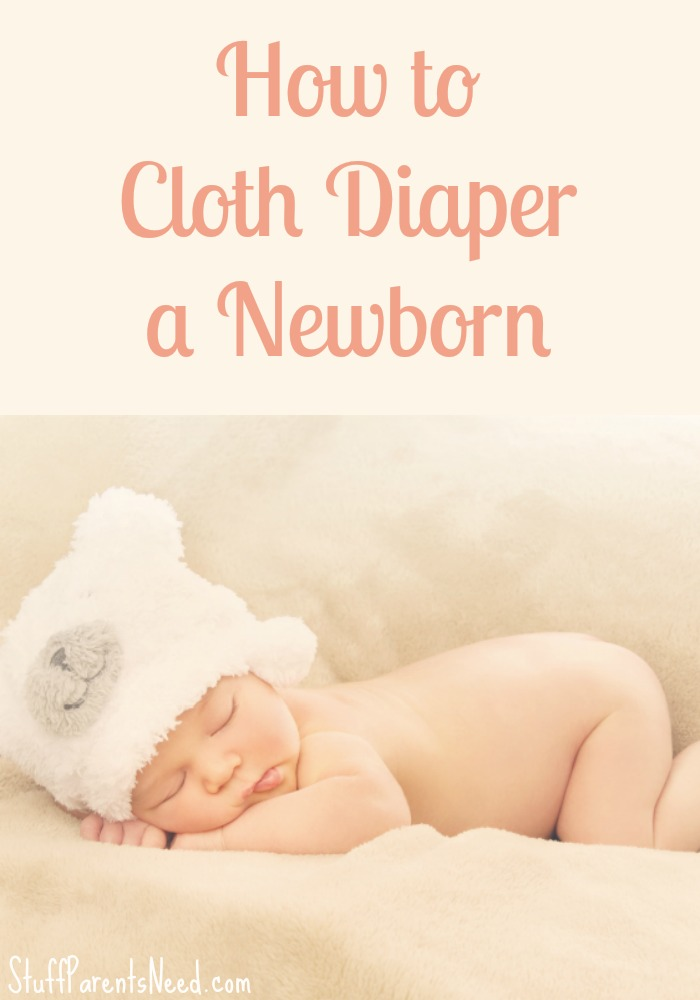 how to cloth diaper a newborn