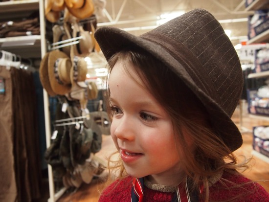 Child rockin' a hat #JT2020