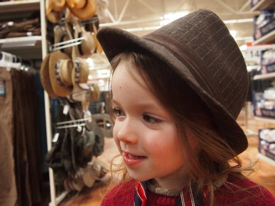 Child rockin' a hat #JT2020