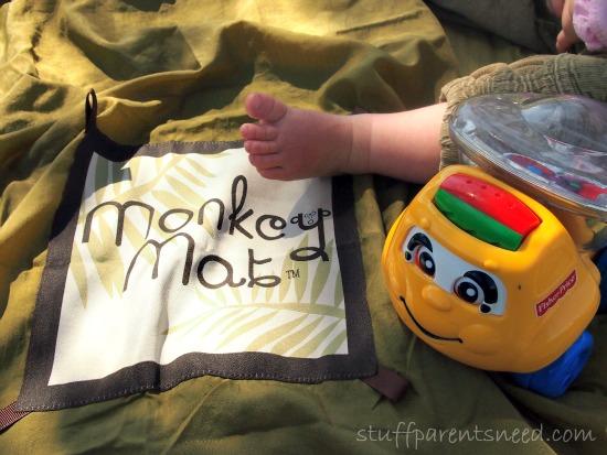 monkey mat portable mat for kids