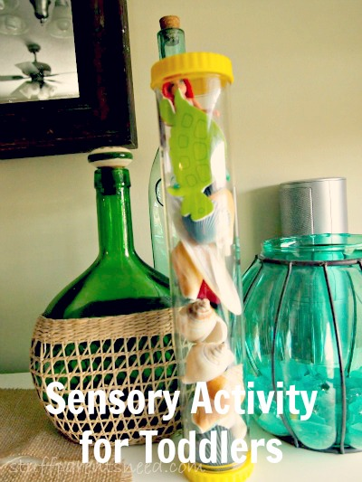 sensory for toddlers with sensory tubes