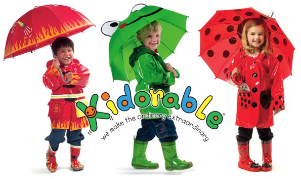 kidorable backpack and kidorable umbrella giveaway